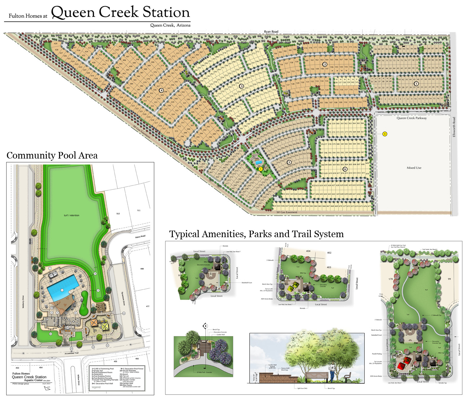 Queen Creek Station Masterplan
